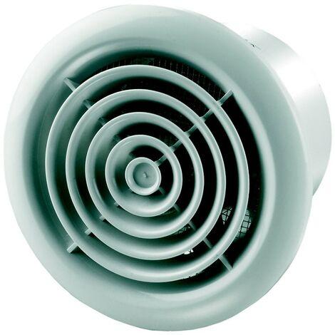 Aérateur extracteur d\'air PF 125 - Aluminium mat - 125mm - Winflex Ventilation