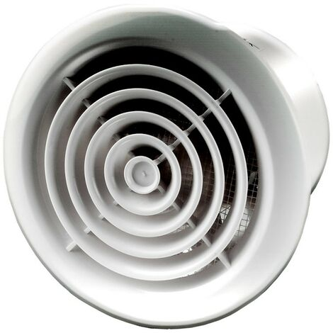 Aérateur extracteur d'air PF 150 - Chrome - 150mm - Winflex Ventilation