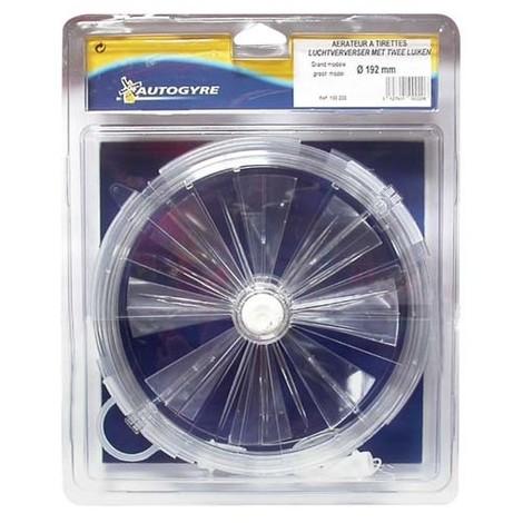 AUTOGYRE - Aérateur à tirettes cristal - D: 156 mm