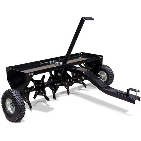 Aérateur Scarificateur Tainé Tracteur tondeuse Largeur de travail 120cm Profondeur de travail 7,6cm