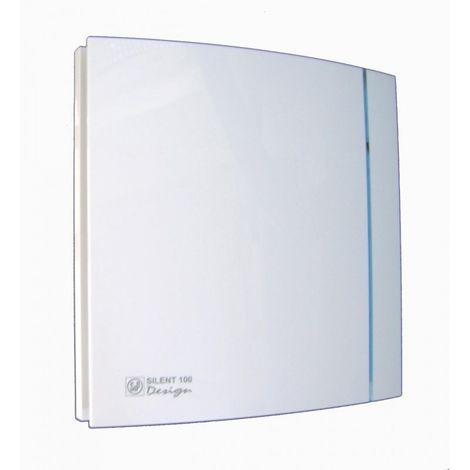 Aerateurs Vmp Serie Silent 200 Design Blanc 210 X 210 Mm 400020