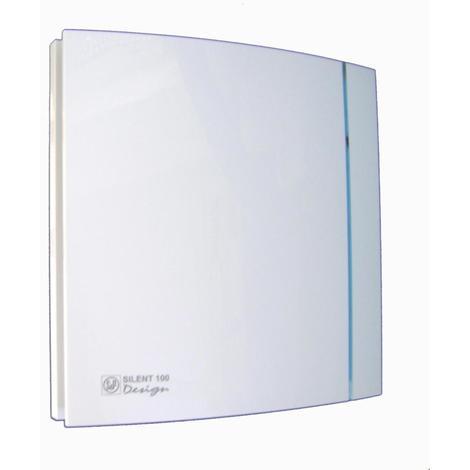 Aérateur ultra-silencieux SILENT DESIGN blanc