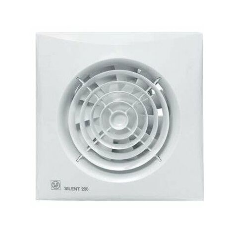 Extracteur d'air unelvent ultra-silencieux temporisé silent 200 crz