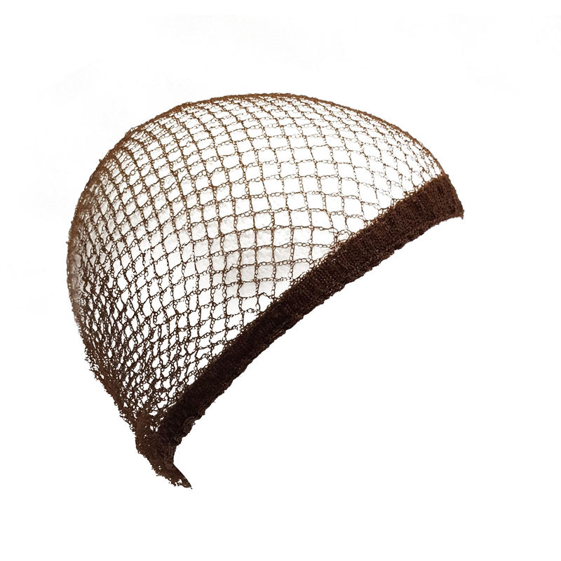 Image of Aerborn Equi-Net Hairnets (Pack Of 2) (One Size) (Brown)