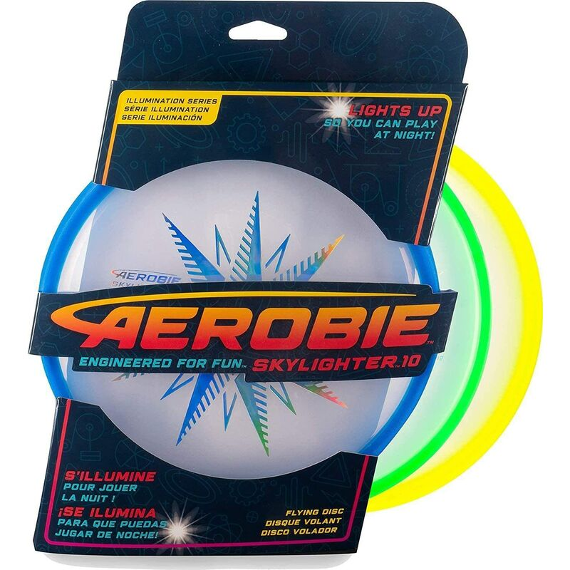 Image of Aerobie LED Skyligher Skylighter Disc Assorted, Various Colours