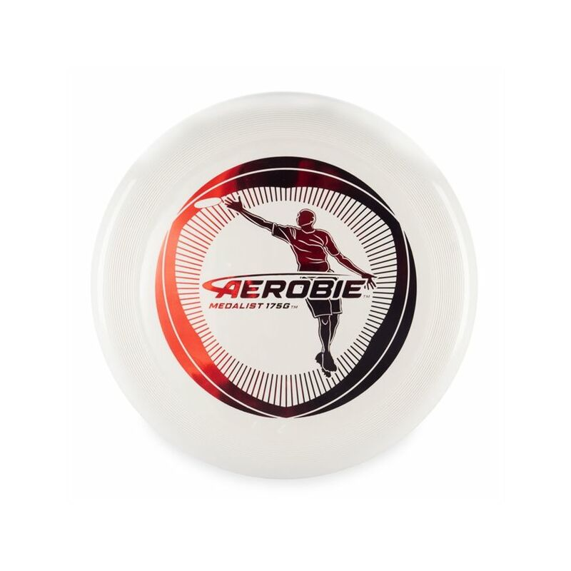 Image of Aerobie Medalist 175 Gram Ultimate Disc - Spin Master 10.63' Diam. (Graphics May Vary) (White)