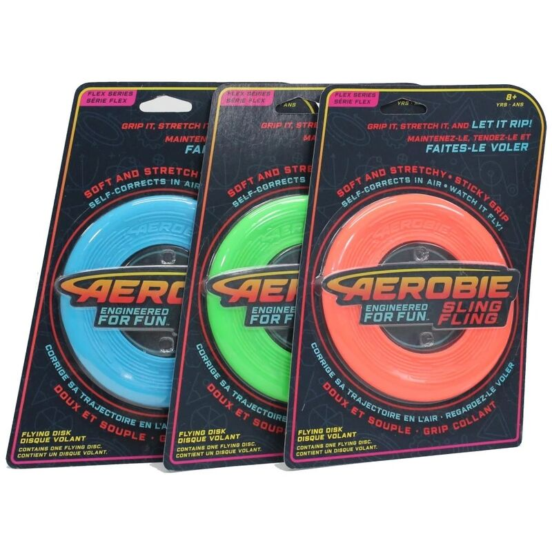 Image of Aerobie Sling Fling - Flexible Flying Disk - Colour May Vary