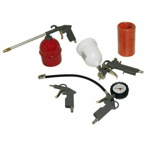 Aerografo Compresor Profesional Kit 5 Pz Mader