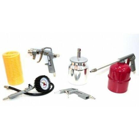 Aerografo Compresor Profesional Kit Nivel 5 Pz