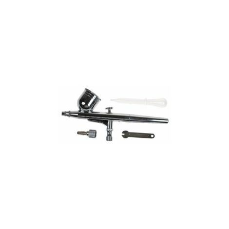 Aerografo Profesional Metal Aguja 0,2mm Deposito 7cc 7901bl