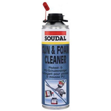 Aérosol de nettoyant mousse PU pour pistolet Gun-vis - 106236 - Soudal - Autre
