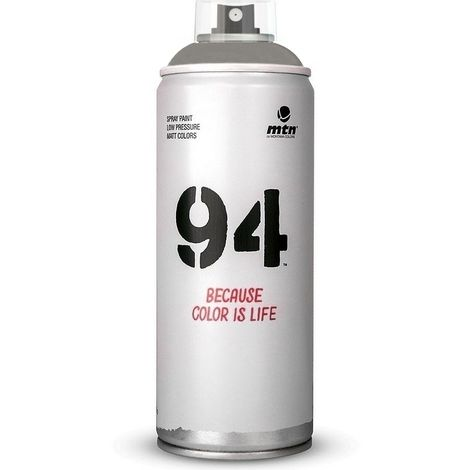 Aérosol de peinture 94 multi supports MAT 400 ml - Les GRIS