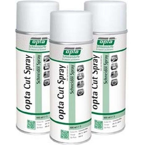 Aérosol d'huile de coupe Opta Cut, Modèle : Bombe aérosol de 400 ml