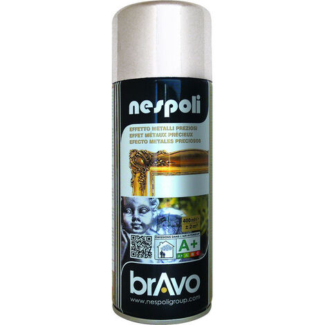 Aérosol peinture argent 400 ml, NESPOLI - ARGENT