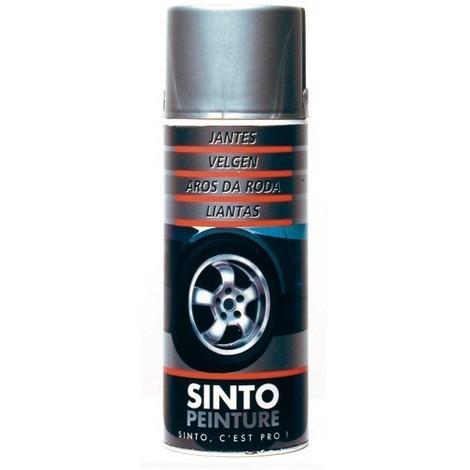 Aérosol peinture JANTES aluminium 400ml SINTOPEINTURE SI921300
