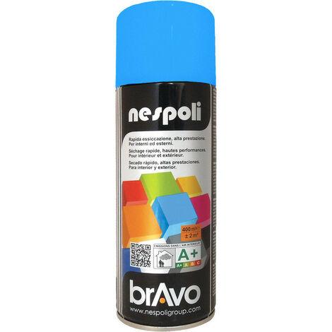 Aérosol peinture professionnelle bleu azur 400 ml, NESPOLI