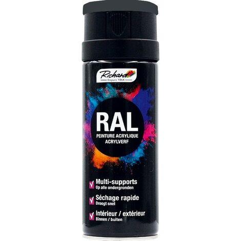 Aérosol RAL peinture acrylique RICHARD multi-supports 400 ml
