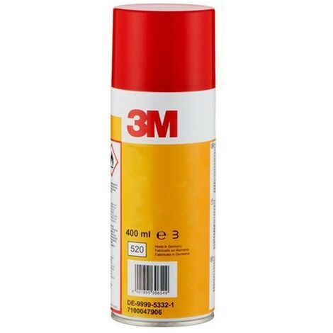 Aérosol Scotch® 3M™ 1609 Lubrifiant Silicone 400ml Blanc - Blanc