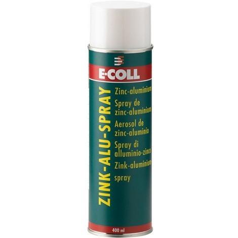 Aérosol zinc clair, Modèle : Aérosol de 400 ml, Couleur gris argenté