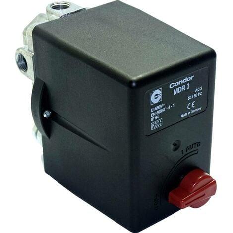 Aerotec 9063076 Interrupteur à pression pour air comprimé 1 pc(s)