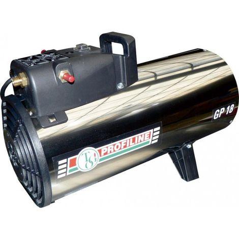 Aérotherme à gaz 11-18kW rejaunear acier inoxydable