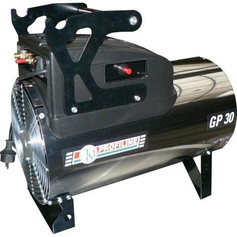 Aérotherme à gaz 15-31,4kWrejaunear acier inoxydable
