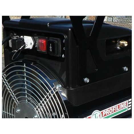 Aérotherme à gaz 15-31,4kWrejaunear acier inoxydable Autom.
