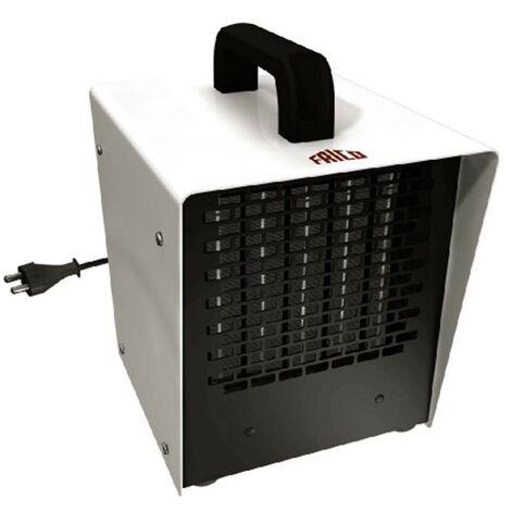 Aérotherme portatif à thermostat électronique K21 - Petit espace - 220V - 2 kW - Blanc
