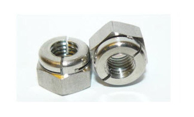 Self Locking Nut >> Aerotight Self Locking Nuts A2 Stainless