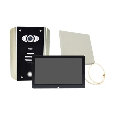 AES PRED2-WIFI-AB-MONITOR1 | AES WiFi / LAN Video Intercom