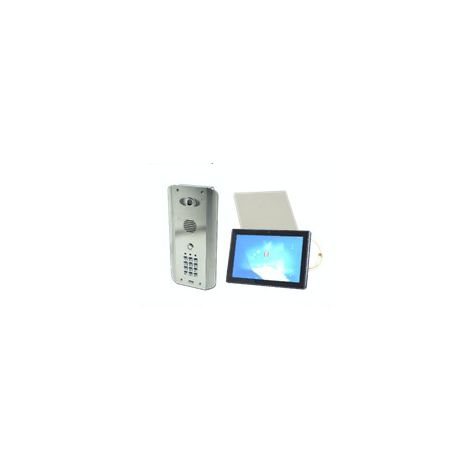 AES PRED2-WIFI-ASK-1 MONITOR | AES Wifi / LAN Video Intercom with keypad