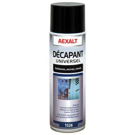 Aexalt - Aérosol décapant universel Porte de douche x 650 ml des peintures, encres et vernis