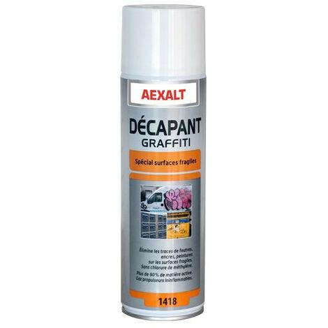 Aexalt - Aérosol décapants graffiti Porte de douche x 650 ml spécial surfaces fragiles