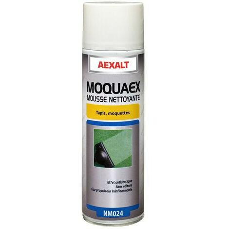 Aexalt - Aérosol mousse nettoyante Porte de douche x 650 ml tapis et moquette - MOQUAEX MOUSSE