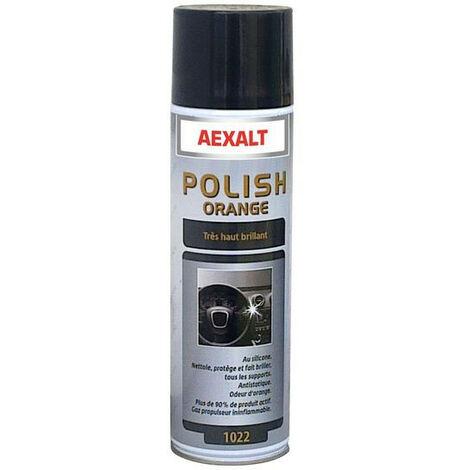 Aexalt - Aérosol polish'orange Porte de douche x 650 ml très haut brillant