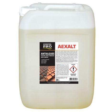Aexalt - Anti-algues toitures et terrasses prêt à l'emploi 20 L