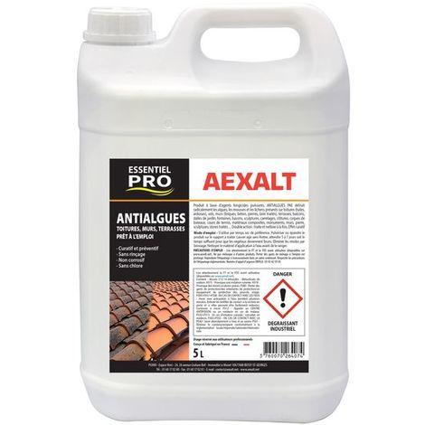 Aexalt - Anti-algues toitures et terrasses prêt à l'emploi 5 L