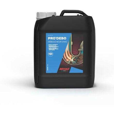 Aexalt - Bidon de 5 L Déboucheur canalisations à forte densité PRO'DEBO