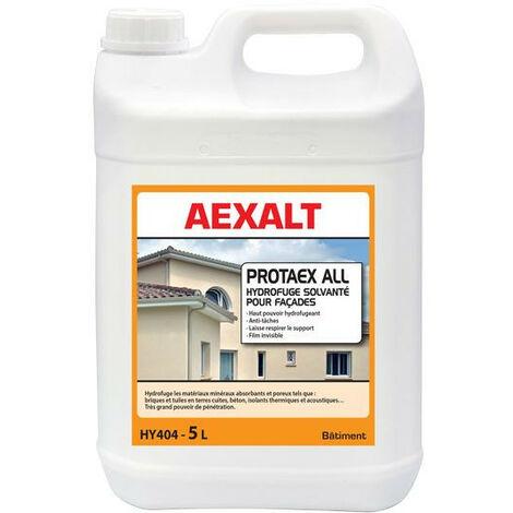 Aexalt - Bidon de 5 L hydrofuge solvante pour façades et toitures PROTAEX ALL