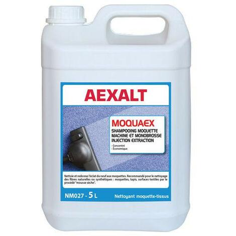 Aexalt - Bidon de 5 L Shampoing moquette et tapis MOQUAEX MACHINE