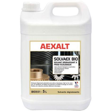Aexalt - Dégraissant à froid bio sans solvants halogènes ni pétroliers 5 L - SOLVAEX BIO