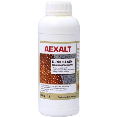 Aexalt - Dérouillant passivant avant peinture 1 L - D-ROUILLAEX