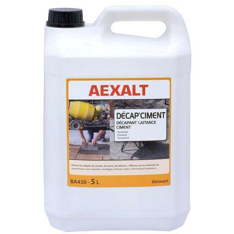 Aexalt - Désagrège tous résidus de ciment, de laitance et de tartre 5 L