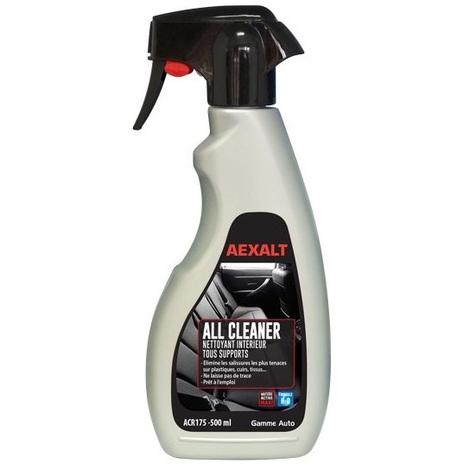 Aexalt - Nettoyant intérieur tous supports Vapo 500 ml ALL CLEANER