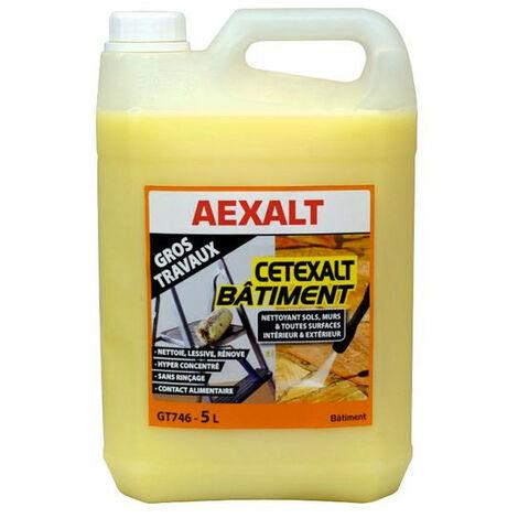 Aexalt - Nettoyant sols & murs - toutes surfaces intérieur & extérieur 5 L