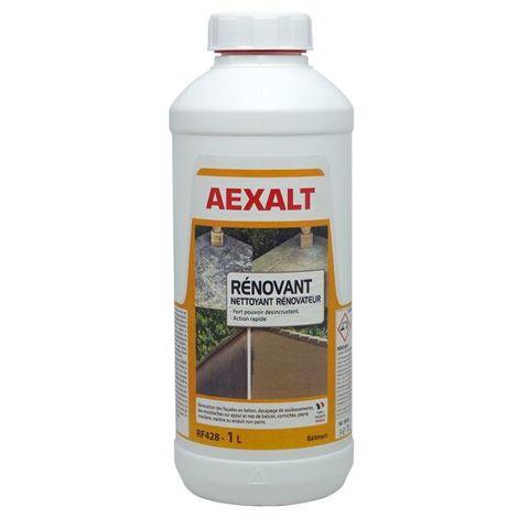 Aexalt - Porte de douche Bidon de 1 L traitement algicide surpuissant NET'FACADE