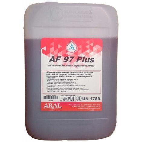 Af 97 Plus Aral Disincrostante Acido Per Rimuovere Il Calcare Da