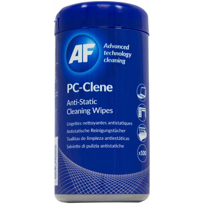 Image of PCC100 PC Clene Wipes - Tub Of 100 - AF