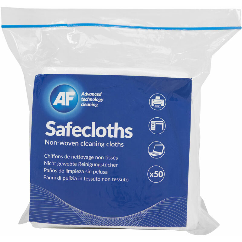 Image of SCH050 S ecloth Cleaning Pads Pack Of 50 - AF