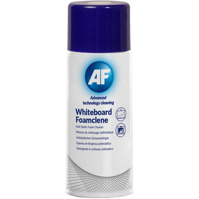 Image of AF WBF400ML Whiteboard Foam Cleaner 400ml